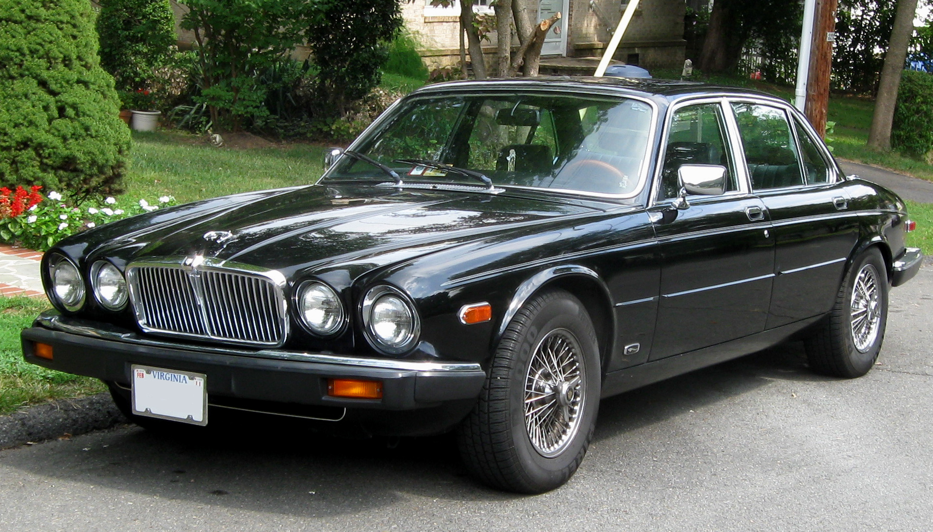 Jaguar XJ6 Black
